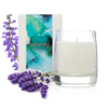 Serenity • lavender & clary sage essential oil candle • 12 oz jar