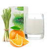 Purifying • orange & lemongrass essential oil candle • 12 oz jar