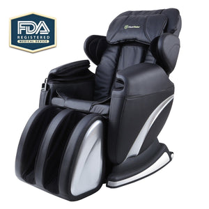 Massage Chair Recliner Free Shipping - Real Relax Full Body Shiatsu, Zero Gravity, Armrest linkage system,with Heater