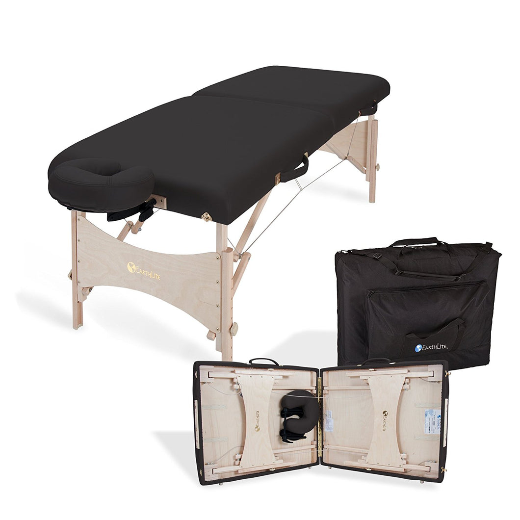 Massage Table Package Free Shipping EARTHLITE Harmony DX Portable Massage Table Package – Eco-Friendly Design, Deluxe Adjustable Headrest