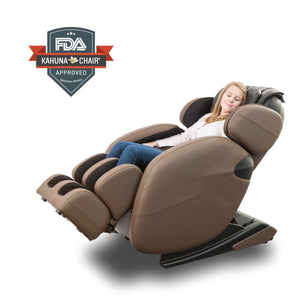 Space-Saving Zero-Gravity Full-Body Kahuna Massage Chair Recliner LM6800 with yoga & heating therapy Free Shipping