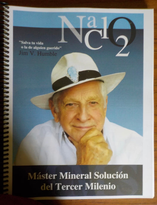 Book - Master Mineral Solucion Del Tercer Milenio -(Spanish edition of The Master Mineral of the Third Millennium) by Jim Humble -MMS (Paperback)