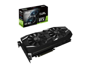 ASUS GeForce RTX 2080 O8G Dual-fan OC Edition GDDR6 HDMI DP 1.4 USB Type-C Graphics Card