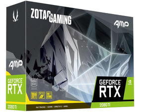 ZOTAC GAMING GeForce RTX 2080 Ti Triple Fan 11GB GDDR6 352-bit Gaming Graphics Card, Active Fan Control, Metal Backplate, Spectra Lighting (ZT-T20810F-10P)