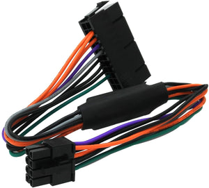 24 Pin to 8 Pin ATX PSU Power Adapter Cable Compatible with DELL Optiplex 3020 7020 9020 Precision T1700 12-inch (30cm)…