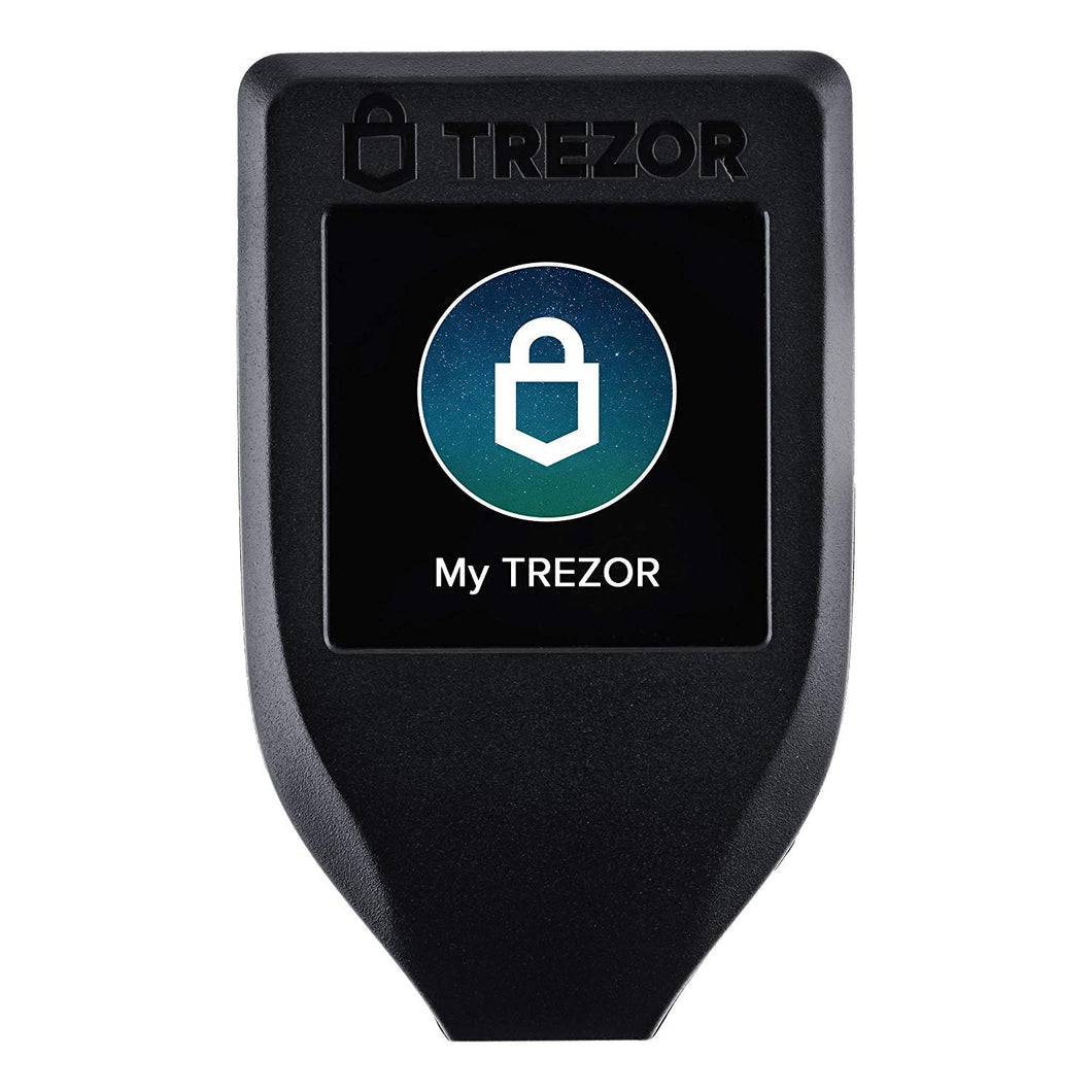 Trezor Model T - Cryptocurrency Hardware Wallet