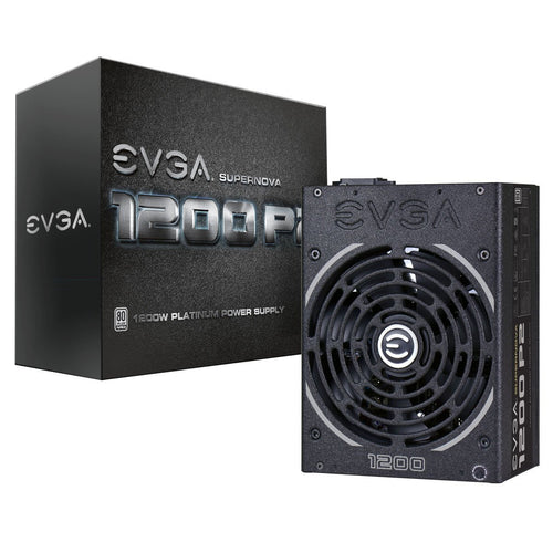 EVGA SuperNOVA 1200 P2 80+ PLATINUM, 1200W ECO Mode Fully Modular NVIDIA SLI and Crossfire Ready 10 Year Warranty Power Supply 220-P2-1200-X1