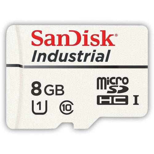 Sandisk 8GB Industrial MLC MicroSD SDHC UHS-I Class 10 SDSDQAF-008G