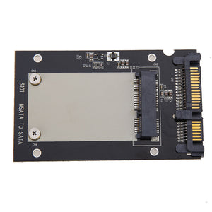 Mini SATA Adapter PCI-e/mSATA SSD/Express to 40pin ZIF/7pin/2.5'' Converter Card
