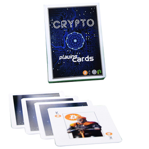 Crypto Playing Cards (one deck)