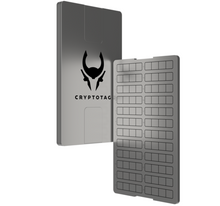 CRYPTOTAG - Space Grade Titanium Seed and Private Keys Backup