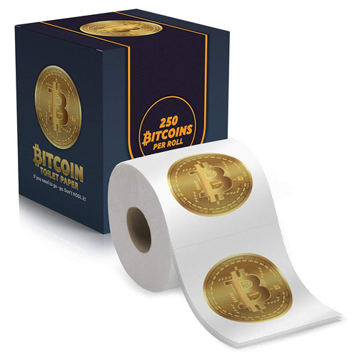 Bitcoin Toilet Paper - 250 sheets - 3 ply