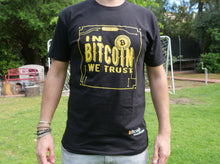 "Bitcoin Merch ""In Bitcoin We Trust"" T-Shirt Black"