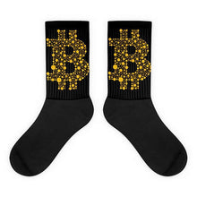 1 Pair Crypto Socks Cotton Blend Unisex