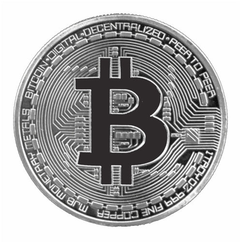 Metal Novelty Crypto Coins