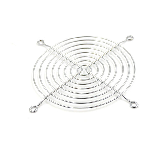 Wire Fan Grill / Finger Guard Chrome replacement (fits Antminer S3, S5, S5+, S7, S9, T9, T9+, L3+, L3++, A3, E3, X3, B3, V9, D3)