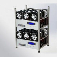 Crypto Coin Open Air Mining Frame Rig Case 6 GPU's ETH BTC Ethereum + 6 Fans
