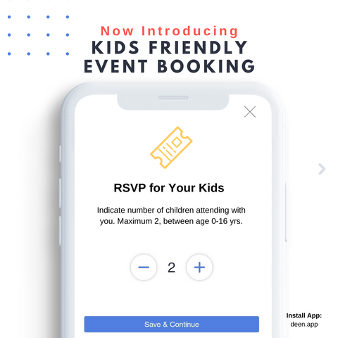 Kids Friendly Events with CollabDeen
