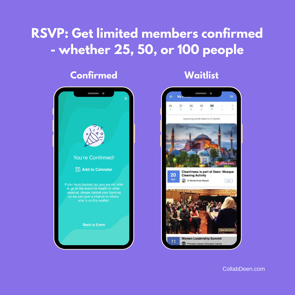 Intelligent RSVP by CollabDeen
