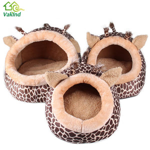 Leopard Pattern Pet Bed