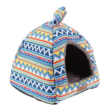Foldable Dog House With Removable Cover