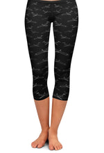 MD-80 Detailed Capri Leggings