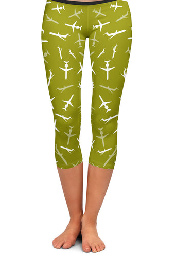 MD-80 Silhouette Capri Leggings