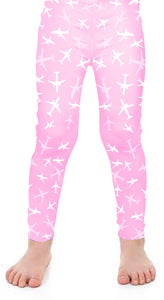 A320 Kids Silhouette Leggings