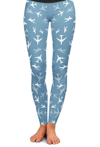 747 Silhouette Yoga Leggings