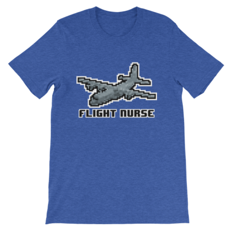 Men's Flight Nurse 8-bit Shirt