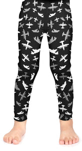 MC-130H Kids Silhouette Leggings