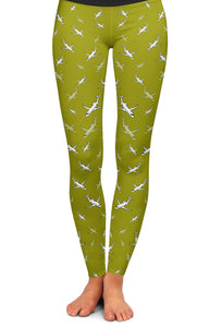 CRJ-200 Detailed Yoga Leggings