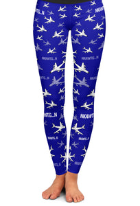 KC-135 Detailed Yoga Leggings