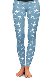 A320 Silhouette Yoga Leggings