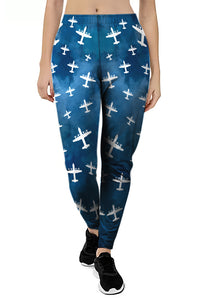 Stormy Skies Joggers- choose your plane!