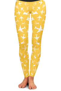 C-17 Silhouette Yoga Leggings