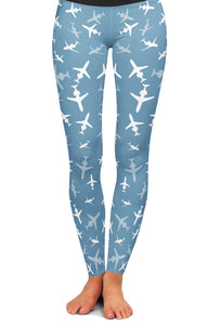 CRJ-200 Silhouette Yoga Leggings