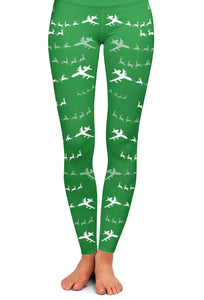 E-3 Santa Leggings