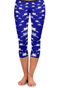 F-15C Detailed Capri Leggings