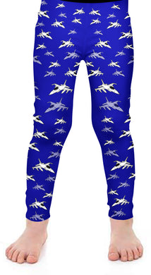 F-16 Kids Leggings