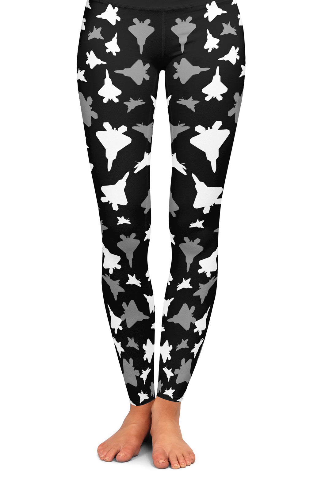 F-22 Silhouette Yoga Leggings