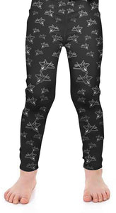 Fighter 2 Kids Detailed Leggings