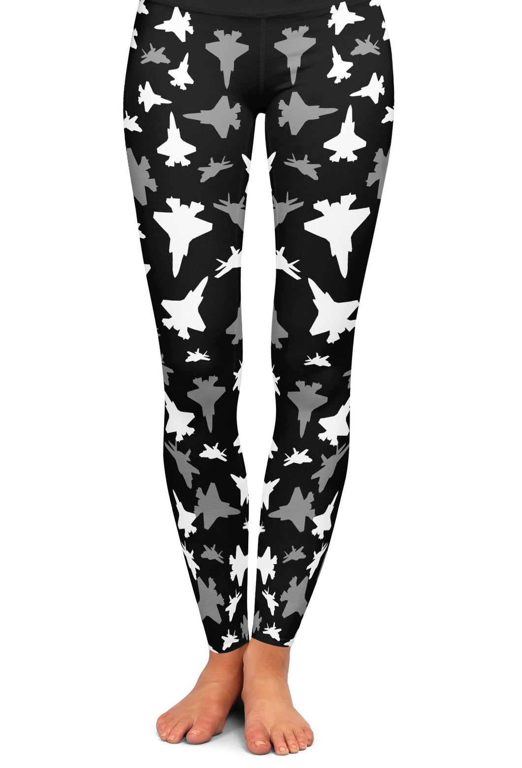 F-35 Silhouette Yoga Leggings
