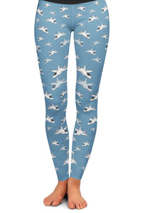 F-35 Detailed Yoga Leggings