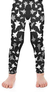 F-35 Kids Silhouette Leggings