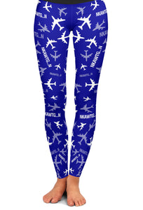 KC-135 Silhouette Yoga Leggings
