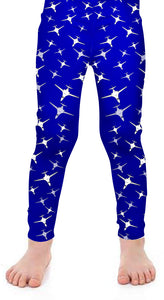 B1 Kids Detailed Leggings