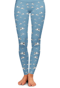 EA-18G Detailed Yoga Leggings