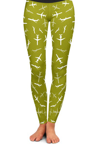 MD-80 Silhouette Yoga Leggings