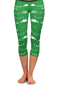 F-15C Santa Capri Leggings